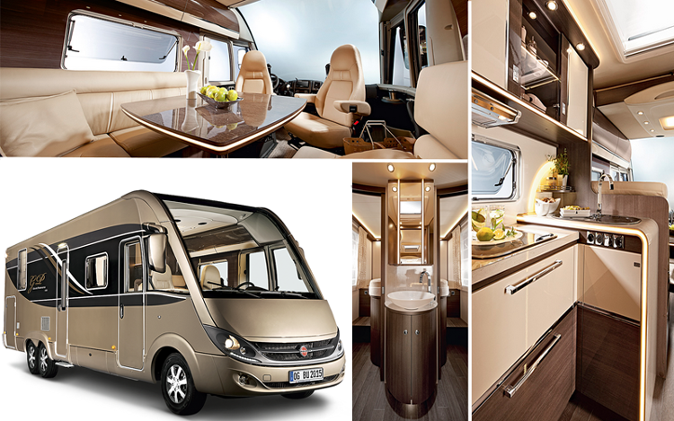 Camping car ultra luxe