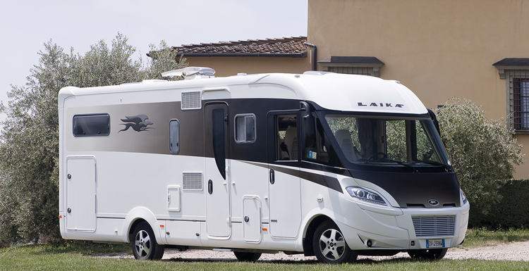 Camping car luxe occasion