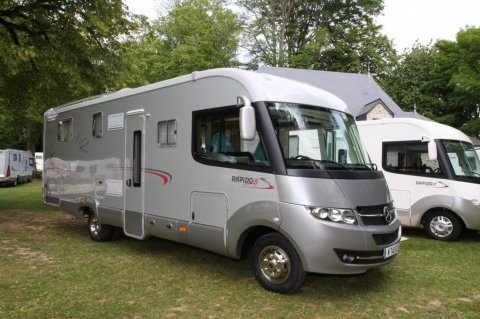 Camping car occasion rapido integral