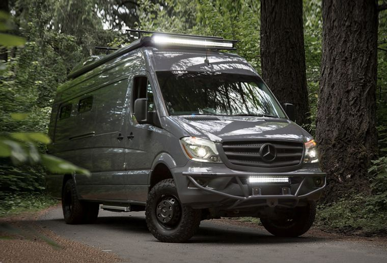 Camping car occasion mercedes sprinter