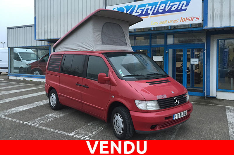 Vito mercedes camping car occasion