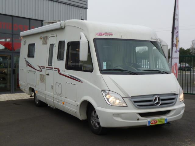 Camping car le voyageur mercedes occasion