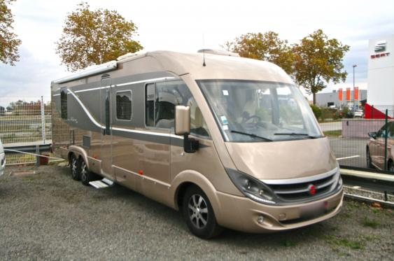 Camping car d occasion integral
