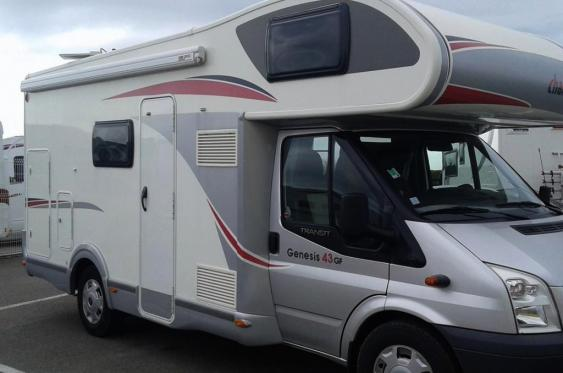 Camping car occasion avec financement