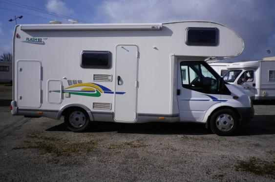 Camping car chausson flash 26 occasion