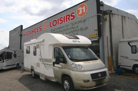Camping car ci camping car rapido occasion lits jumeaux