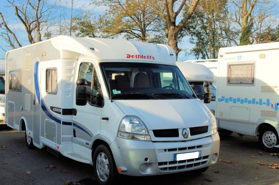 Camping car 6m occasion