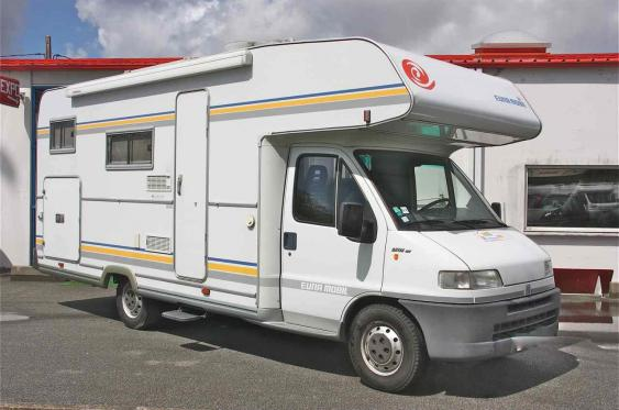 Camping car occasion professionnel