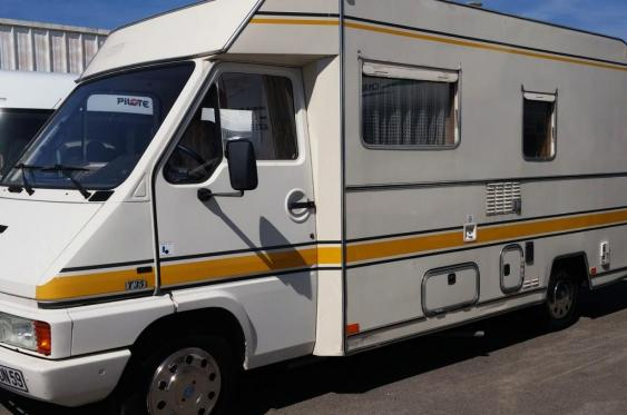 Camping car occasion rapido