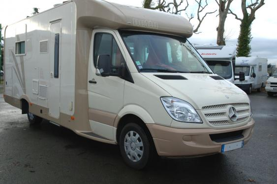 Mercedes camping car occasion