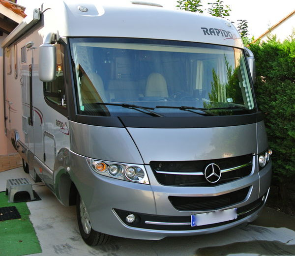 Camping car occasion integral mercedes