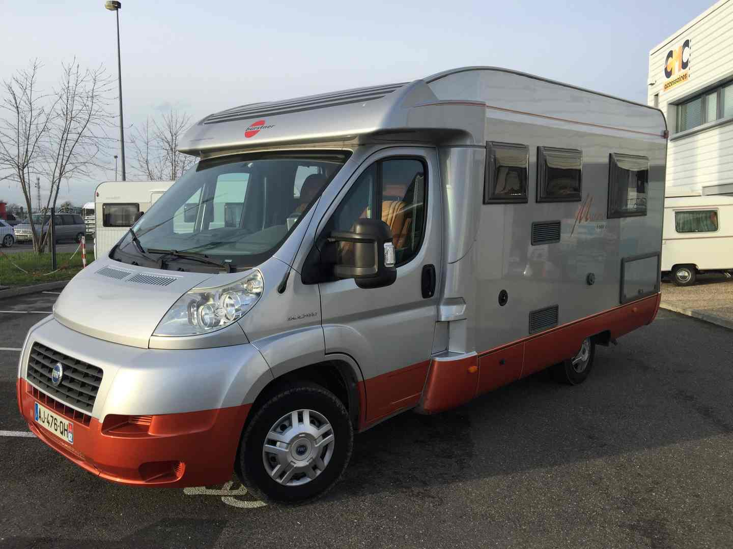 Camping car burstner occasion particulier