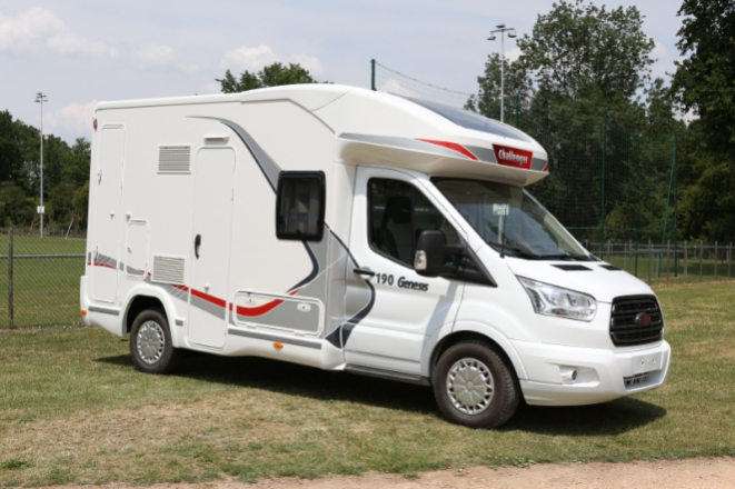 Camping car challenger neuf