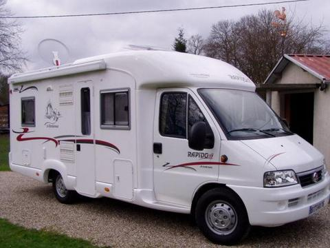 Vente camping car occasion entre particulier