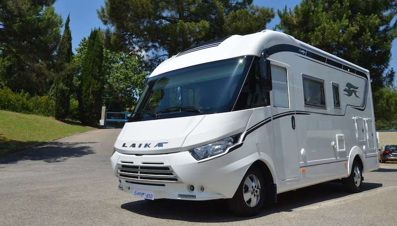 Camping car profilé camping car quartz 274