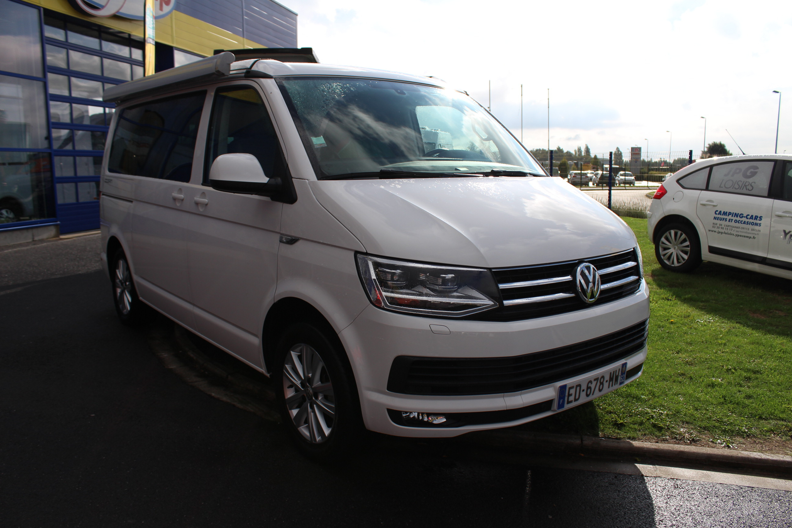Camping car volkswagen california occasion
