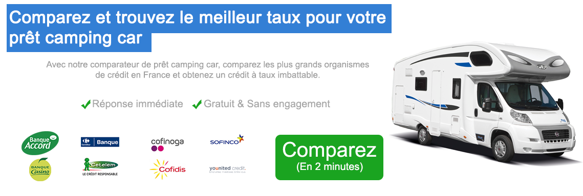 Comparateur camping car