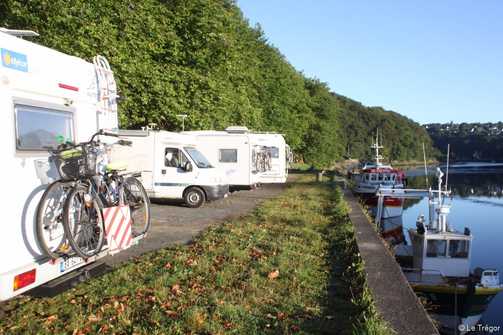 Aire camping car brest