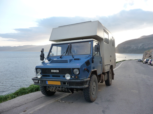Camion 6×6 camping car occasion