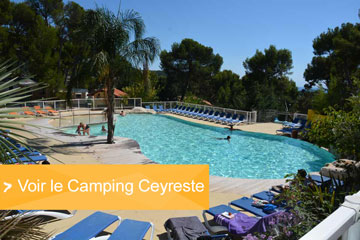 Camping mobilhome calanques