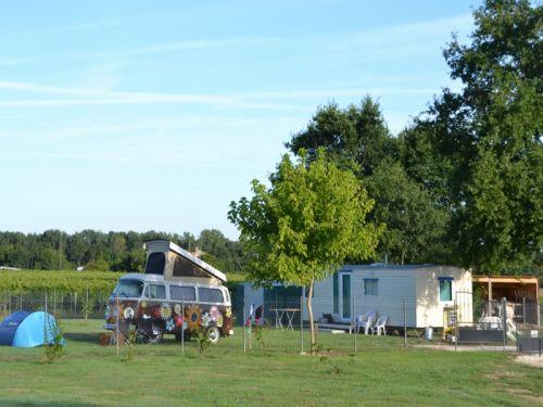 Camping familial camping luxe