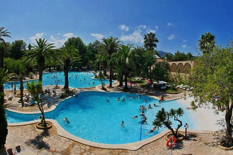Camping hotel espagne