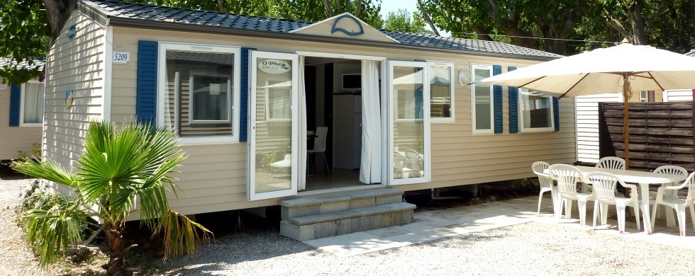 Camping mobilhome sud france