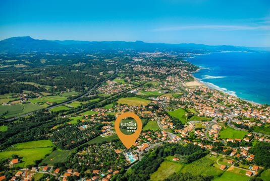 Camping pays basque camping ronce les bains