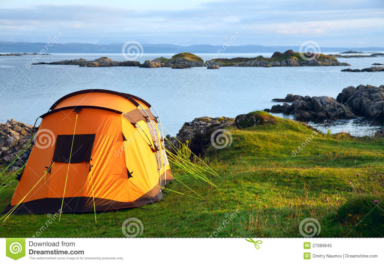 Camping ocean camping wimereux