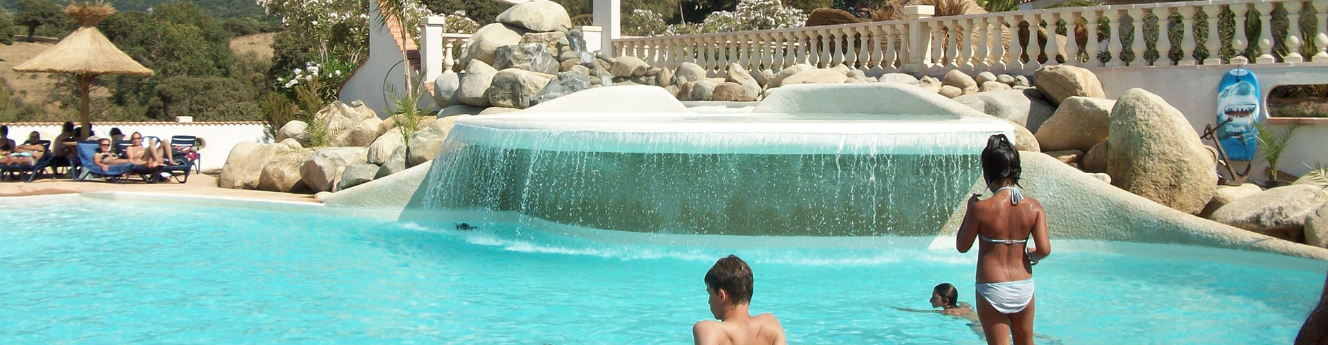 Camping water park corse
