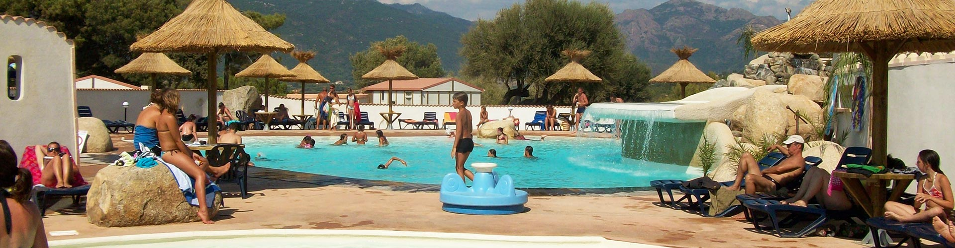 Camping corse groupe