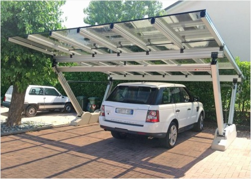 Carport alu camping car