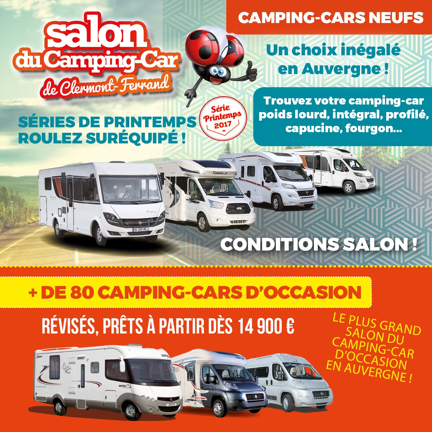 Salon camping car occasion 2017