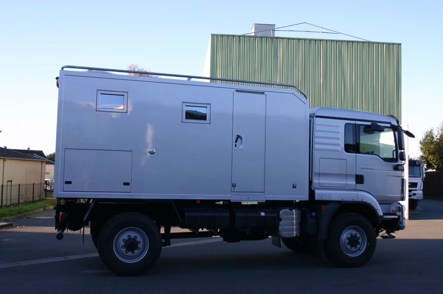 Camping car poids lourd 4x4 occasion