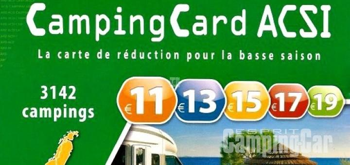 Carte acsi camping car 2016