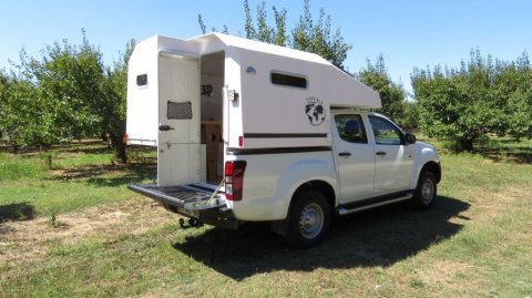 4x4 cellule camping car occasion