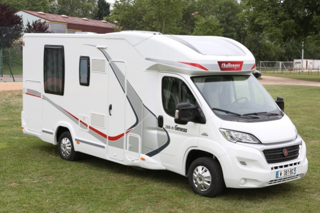 Challenger camping car 2017