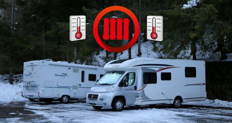 Chauffage d'appoint pour camping car