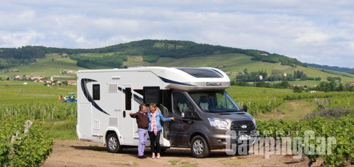 Camping car chausson 2017