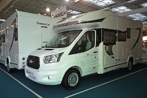 Camping car chausson 616 occasion