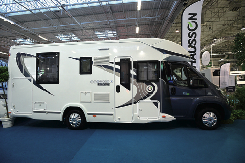 Camping car chausson 718 eb occasion