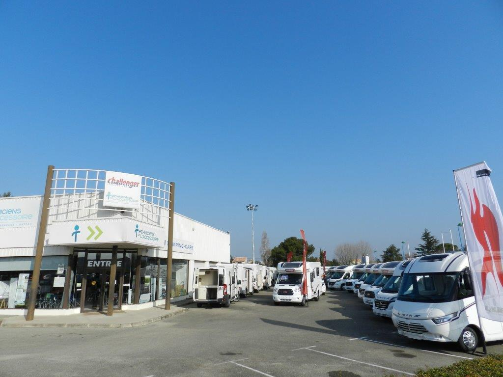 Camping car occasion chiron carpentras