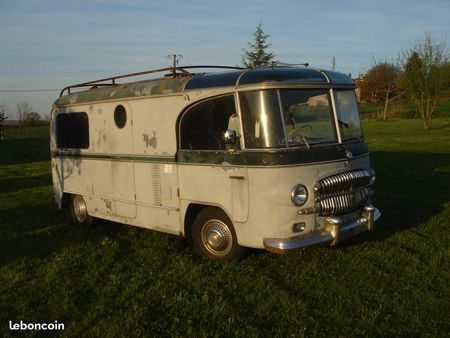 Camping car occasion citroen