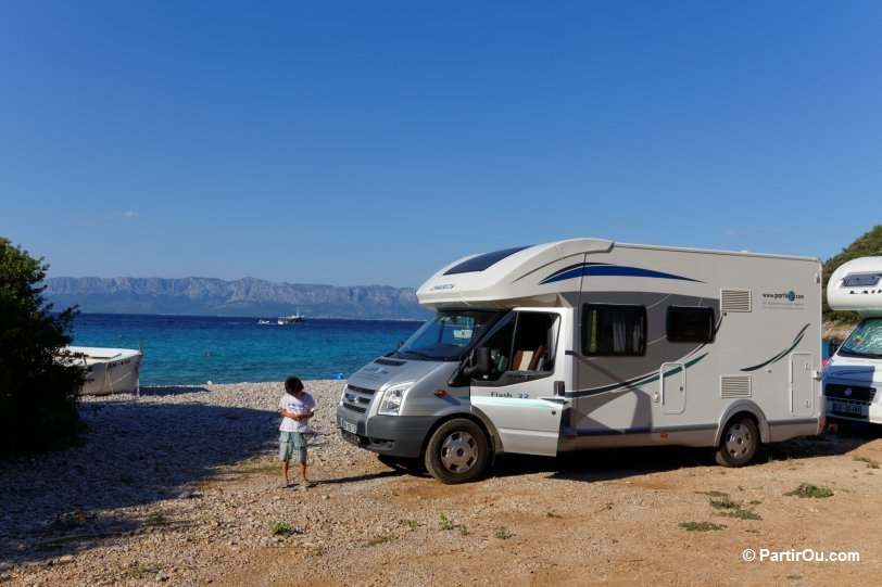 Aire camping car grece