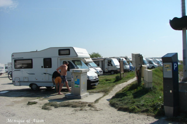 Aire camping car le crotoy