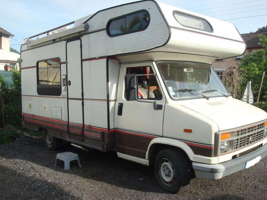 Camping car c25 diesel occasion