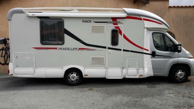Camping car rimor 69 plus