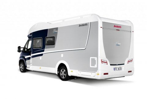 Camping-car occasion lit central et lit pavillon