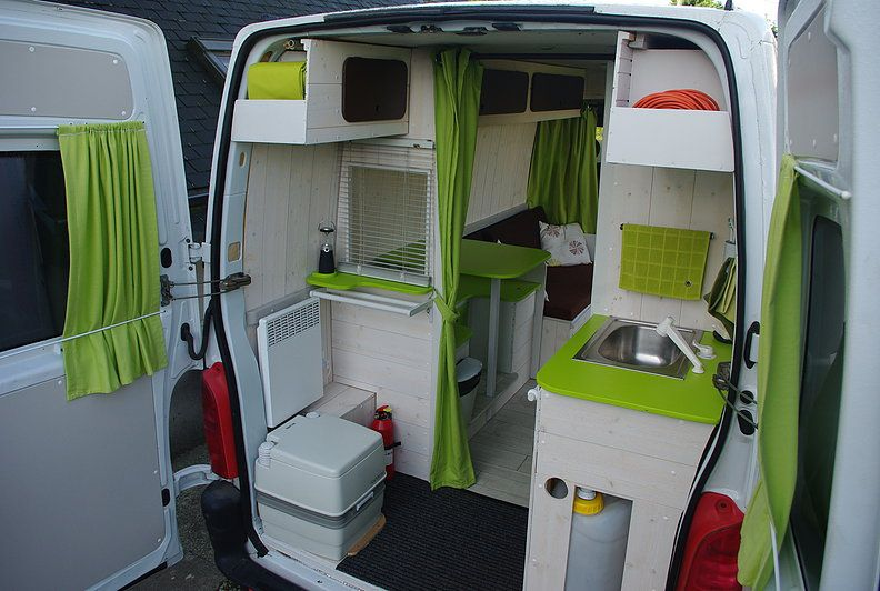 Kit amenagement fourgon camping car renault master