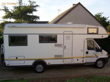 Camping car double plancher occasion